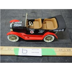 Texaco 1/24 Scale Coin Bank Car With Key 1997 by ERTL