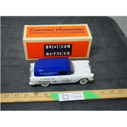 1955 Chevrolet Delivery 1/25 Scale Coin Bank with Key and Original Box
