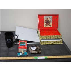 Car Christmas Ornament, Unique Clock, John Deere Mug and Misc