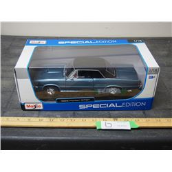 Maisto Special 2017 Edition 1/18 Scale 1965 Pontiac GTO Toy Car