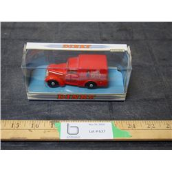 Matchbox Dink Collection 1948 Comer 8 CWTVan 1988 1/43 Scale Toy Can