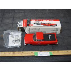 1959 Chevrolet Elcamino Bank (No Key) 1994 with Box