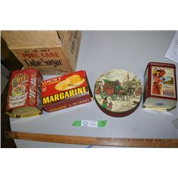 Collector Tins and Magazine Box