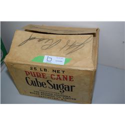 B.C. Sugar Box Antique (Cane)