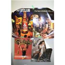4 Beer Posters