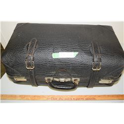 Leather Suitcase (Straps are Poor)