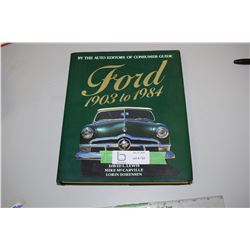 Ford 1903 and 1984 Hardcover