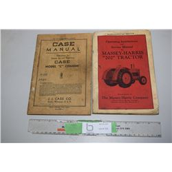 2X THE MONEY - Massey/Case Manuals