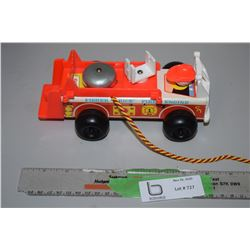 Fisher Price Fire Engine 1968