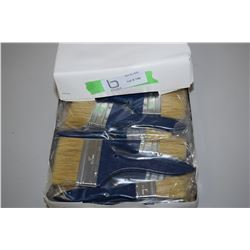1 Case of N.I.P Paint Brushes