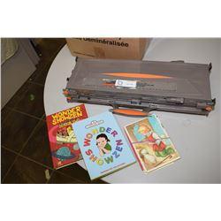 Hot Wheels etc and Children Books etc