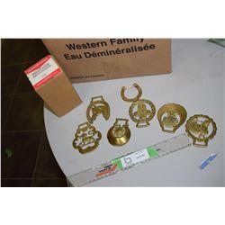 Regular and Horse Brass