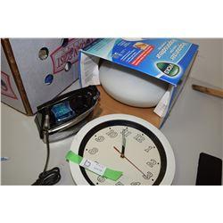 Iron Vaporizer and Clock