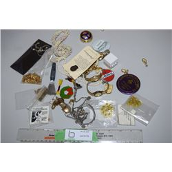 Costume Jewelry, Watches and etc.