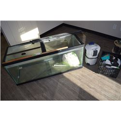 """Large Aquarium and Accessories with Pump 48"""" by 20"""" by 18"""""""