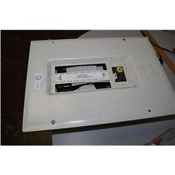 100 Amp Service Breaker Box, Breakers Inside