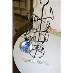 Studio Light and Wine Rack