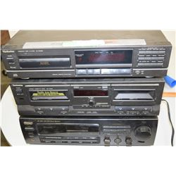 Teac Receiver with Tape/CD Player