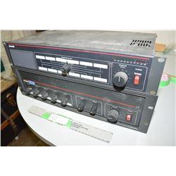 Dukane 125 Power Amp and Selector