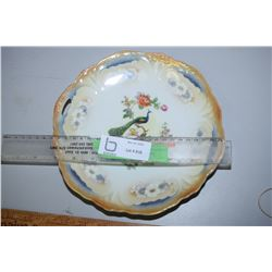 Bavaria Peacock Plate