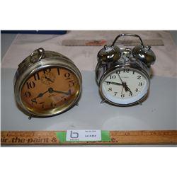 Cosmo and Big Ben Alarm Clocks