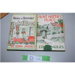 2 Books, Sask Author 1940s