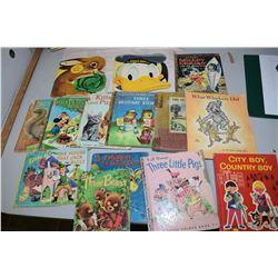 Vintage and Disney Children's Books