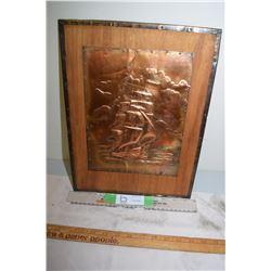 Copper Craft Fold Ship Picture