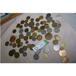 Bag of World Coins (1942 Mercury Dime)