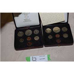 2X THE MONEY - 1977 Canada Coin Set