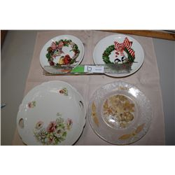 Antique and Christmas Plates