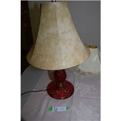 Red Electric Lamp