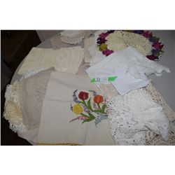 Embroidery and Crochet Lot