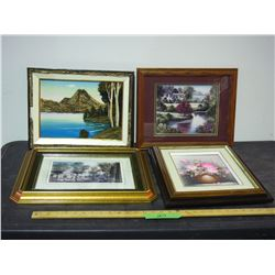 4 Pictures in Frames