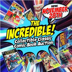 WELCOME TO THE COLLECTIBLE COMIC BOOK AUCTION