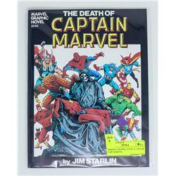 MARVEL GRAPHIC NOVEL # 1 DEATH CAPT MARVEL