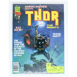 MARVEL PREVIEW # 10 THOR
