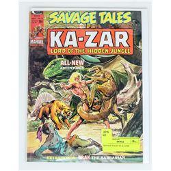 SAVAGE TALES # 6 KA-ZAR