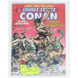 SAVAGE SWORD OF CONAN # 2 FULL COLOR