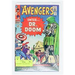 AVENGERS # 25 DR. DOOM 1966