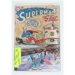 SUPERMAN # 123 SUPERGIRL PROTOTYPE