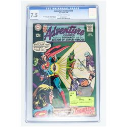 ADVENTURE COMICS # 376 CGC 7.5 SUPERBOY