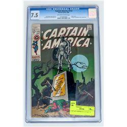 CAPTAIN AMERICA # 113 CGC 7.5