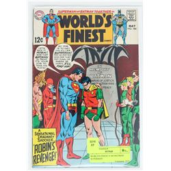 WORLD'S FINEST # 184 BATMAN SUPERMAN