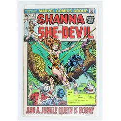 SHENNA THE SHE DEVIL # 1 STERANKO ART