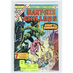 GIANT SIZE CHILLERS # 3 HORROR MACABRE