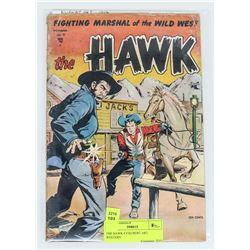 THE HAWK # 9 KUBERT ART WESTERN