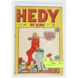 HEDY DE VINE # 33