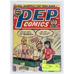 PEP COMICS # 93