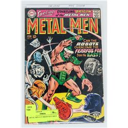 METAL MEN # 27 ORIGIN KEY ISSUE